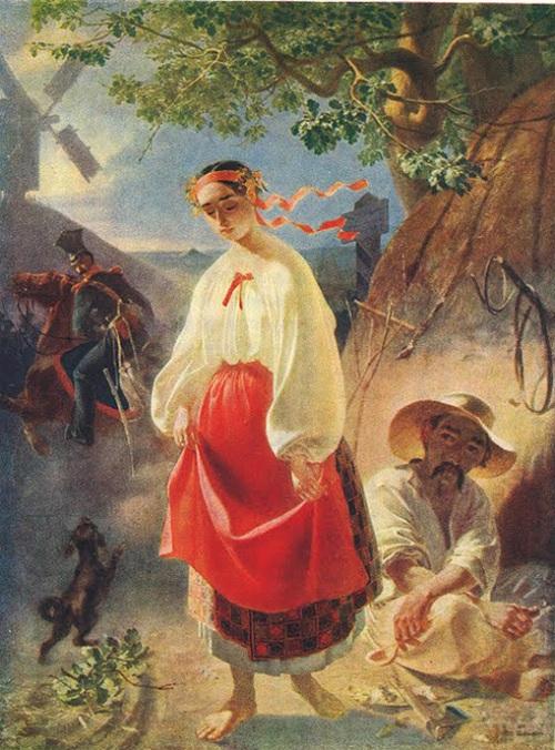 Катерина. (1842). Автор: Т.Шевченко.
