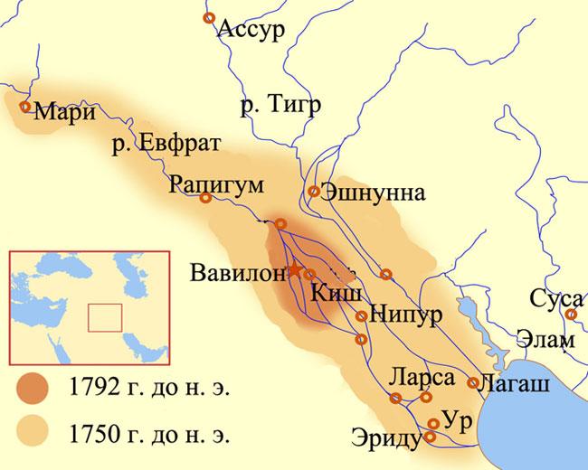 Вавилонское царство в период правления Хаммурапи