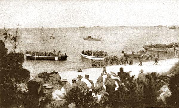 Войска Австралии в Галлиполи.